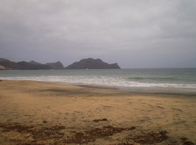 Salamansa Bay and beach.