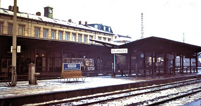 Erlangen (D) Janvier / Januar 1971. (Diapositive numérisée).
