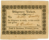 Diligence Ticket