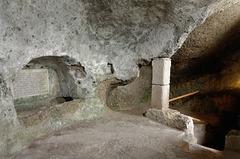 Catacombes du cimetière St Pierre