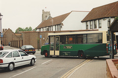 Ipswich Buses M213 EDX - 8 May 1995