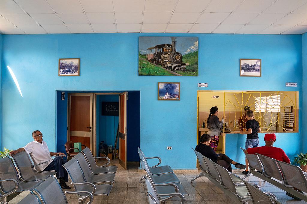 Rafael Freyre - railway station