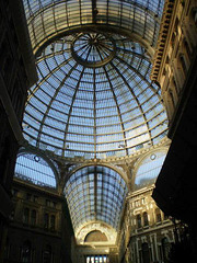 Dome of Umberto I Galleries (1890).