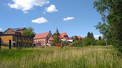Gadebusch, Blickrichtung Stadtzentrum