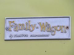 """Travco Dodge A108 """"Family Wagon"""" Camper"""