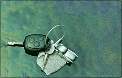 The 50 Images Project - 29/50 - my key&teabag ring