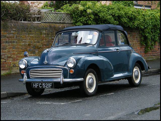 Morris motor car