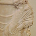 Detail of a Relief with Dionysos in the National Archaeological Museum in Athens, May 2014