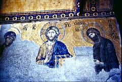 Hagia Sophia, 1. OG, Mosaik. ©UdoSm