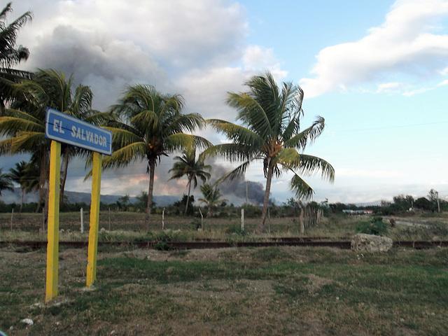 El Salvador via Cuba