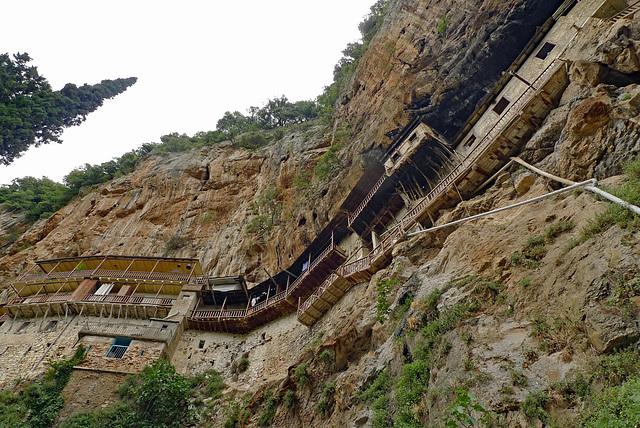 Greece, Stemnitsa, Prodromou Monastery