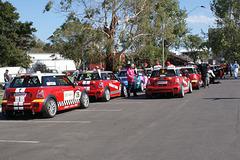 Racing Cars At Albert Park