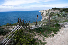 Safety Barriers for a Corsican Cliff
