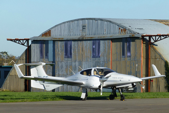 G-ELSE at Lee on Solent (1) - 15 January 2016