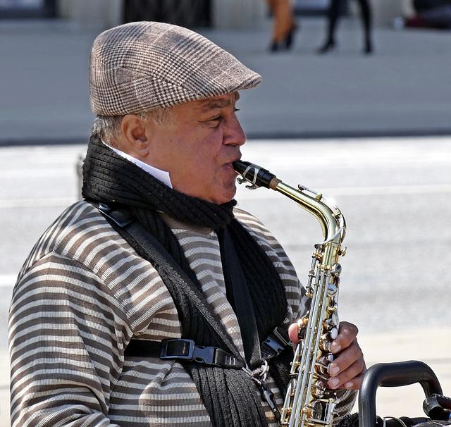 Hervorragender Saxophonist!!! PiP