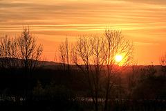 Sonnenuntergang 13. April 2017