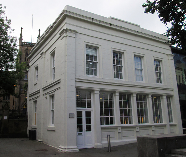 Classical style house/shop conversion.