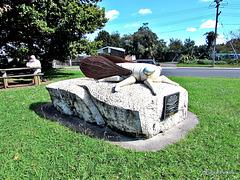 Cicada Monument.