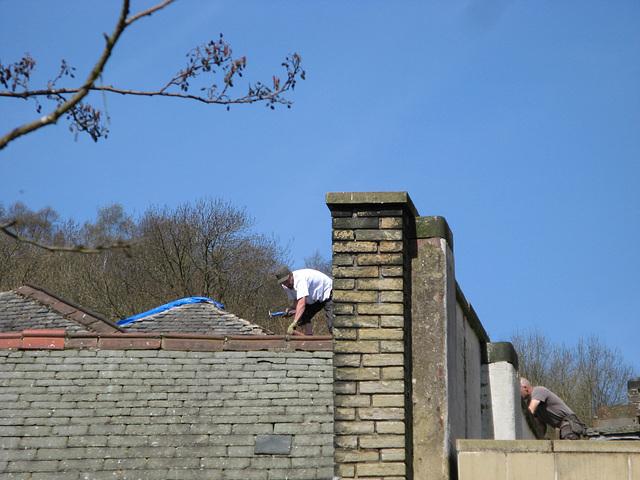 Hebden Bridge - roof repairs