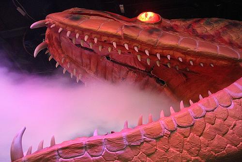 A Giant Robot Serpent