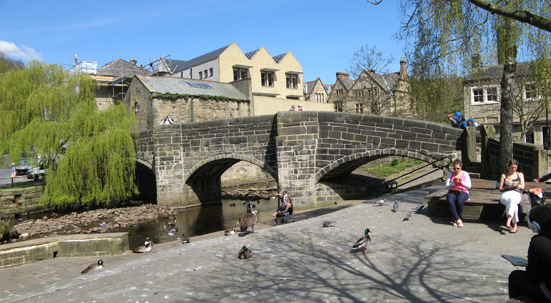 Hebden Bridge - the old bridge