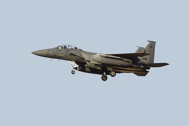 4th Fighter Wing F-15E Strike Eagle 89-0481