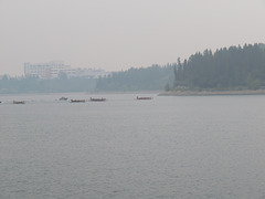 Forest Fire Smoke from British Columbia and Washington has arrived in Calgary