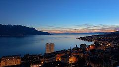 190808 Montreux crepuscule