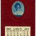 Cyanotype Woman with May 1908 Calendar