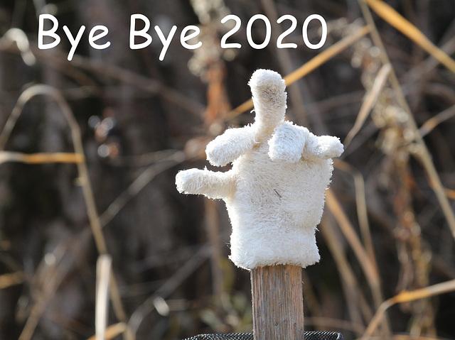 and welcome 2021, Donald T. aurait-il perdu son gant?