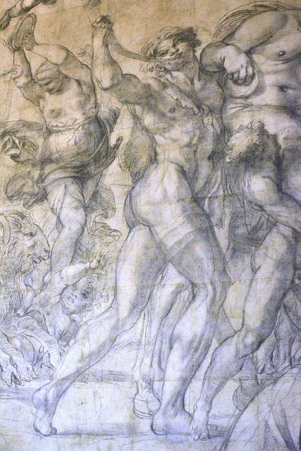 Urbino 2017 – Palazzo Ducale – Study for a fresco Triumph of Bacchus in the Palazzo Farnese in Rome