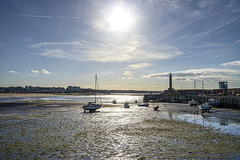 Margate - low tide