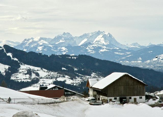 Berge im Allgäu