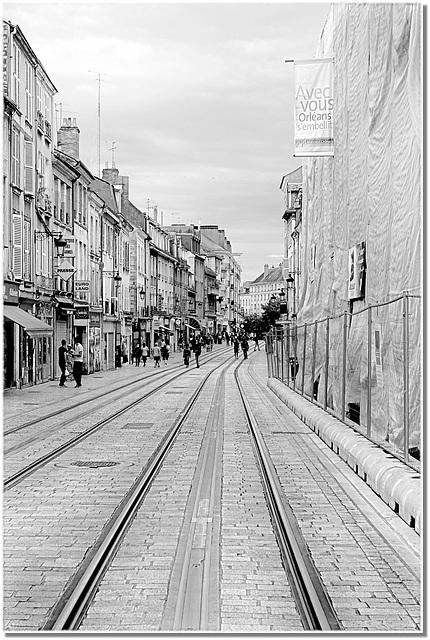 Orléans, rue des Carmes
