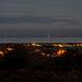 Wind farm as the dawn approaches