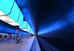 In der U4-Station HafenCityUniversität