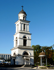 Chisinau- Belfry of the Metropolitan Cathedral 'Nativity of the Lord'