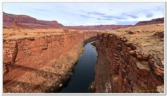 Colorado River slipping through the cracks