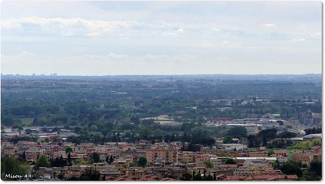 ROME vu de la Villa d'Este