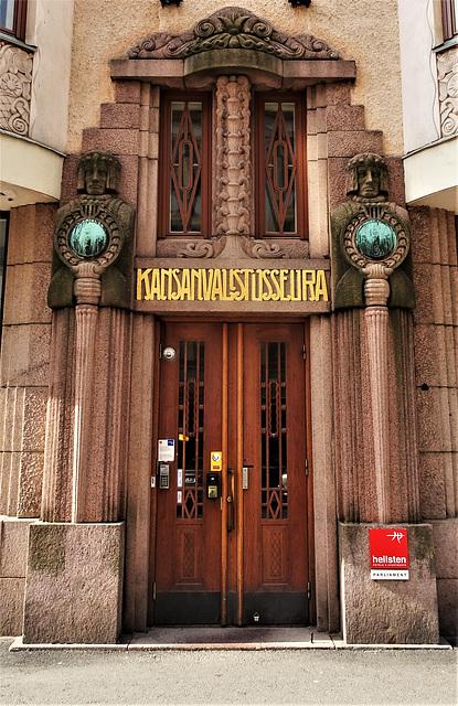 Helsinki, architectural detail 4