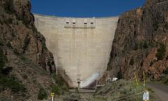 Curecanti Nat Rec  Morrow Point Dam  (# 0209)