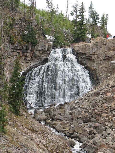 Waterfalls at Yellowstone