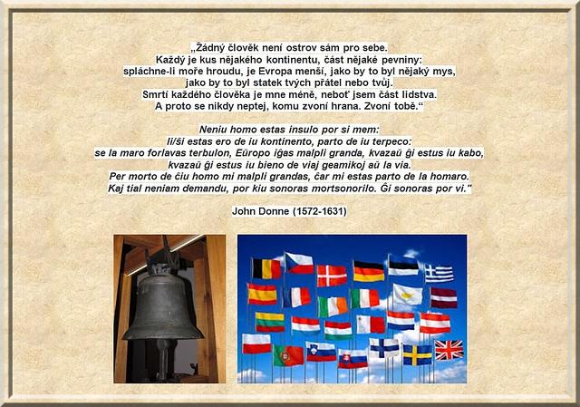 John Donne - Por kiu sonoras la mortsonorilo?