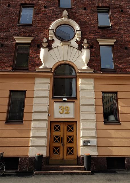 Helsinki, architectural detail 6