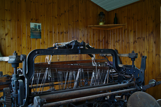 Weaver's cottage, Highland Folk Museum, Newtonmore