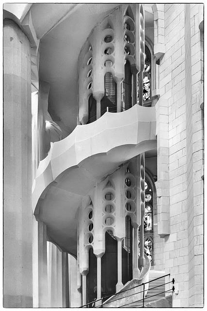 BARCELONA la SAGRADA FAMILIA de Antoni Gaudi
