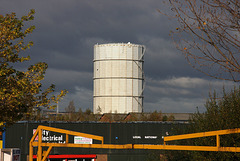 Farewell to the gasholder