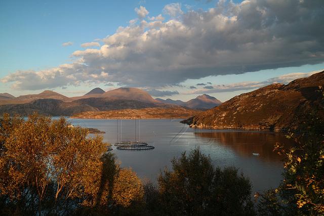 Loch Torridon from Applecross peninsula