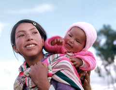 Two smiles  from Huancayo