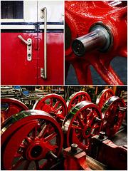 HSB-Werkstatt Wernigerode: Impressionen in Rot